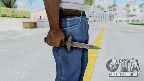 Skyrim Iron Dager para GTA San Andreas terceira tela