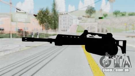 MG36 para GTA San Andreas segunda tela