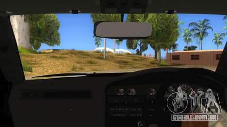 Toyota Supra 2.5Gt 1992 para GTA San Andreas vista interior