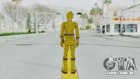 Power Rangers Dino Thunder - Yellow para GTA San Andreas terceira tela