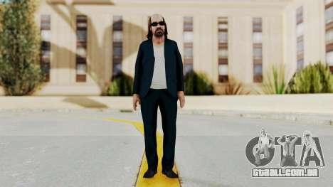 Kane And Lynch 2 - Lynch 1st Mission para GTA San Andreas segunda tela