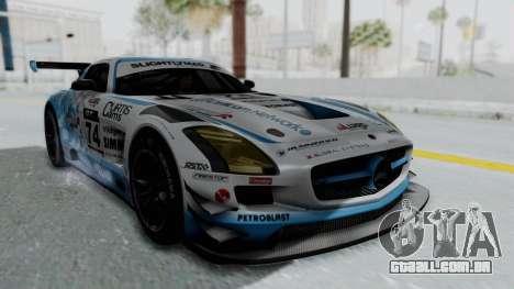 Mercedes-Benz SLS AMG GT3 PJ5 para GTA San Andreas vista inferior