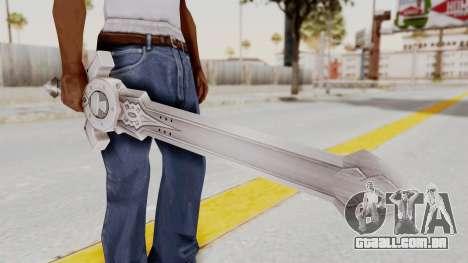 Horse Orphnoch Sword para GTA San Andreas terceira tela