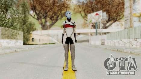 Mass Effect 2 Rana Thanoptis para GTA San Andreas segunda tela