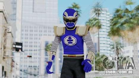 Power Rangers Ninja Storm - Navy para GTA San Andreas
