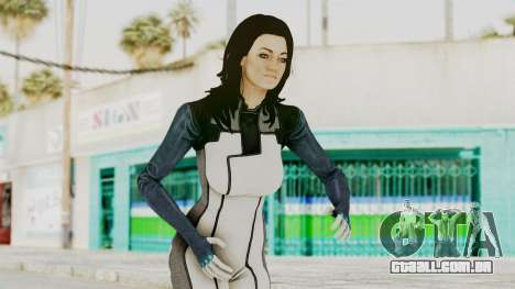 Mass Effect 3 Miranda in Evas Catsuit para GTA San Andreas