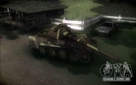 Panther II para GTA San Andreas traseira esquerda vista