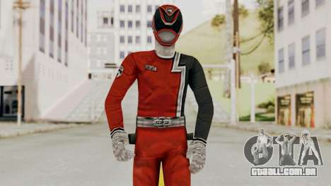 Power Rangers S.P.D - Red para GTA San Andreas