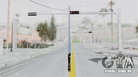 Star Wars LightSaber Blue para GTA San Andreas segunda tela