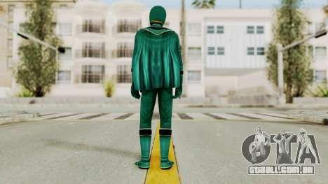 Power Rangers Mystic Force - Green para GTA San Andreas terceira tela