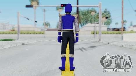 Power Rangers Ninja Storm - Navy para GTA San Andreas terceira tela