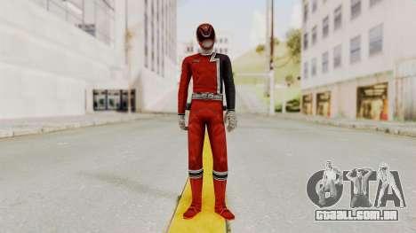 Power Rangers S.P.D - Red para GTA San Andreas segunda tela
