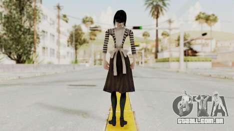 Alice London Madness Returns para GTA San Andreas terceira tela