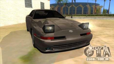 Toyota Supra 2.5Gt 1992 para GTA San Andreas vista traseira