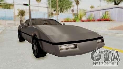 Beta VC Banshee para GTA San Andreas
