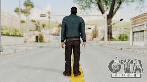 Wanted Weapons Of Fate Chicago Grunt Masked para GTA San Andreas terceira tela