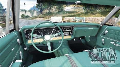 GTA 5 Chevrolet Impala 1967 traseira direita vista lateral
