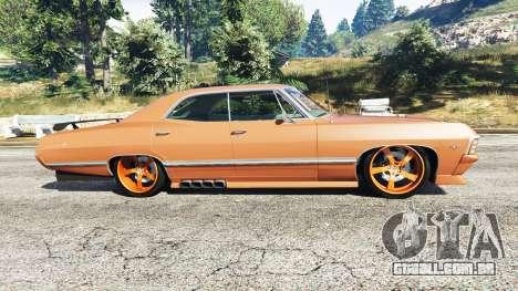GTA 5 Chevrolet Impala 1967 vista lateral esquerda