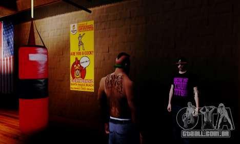 O vendedor de esteróides no ginásio para GTA San Andreas