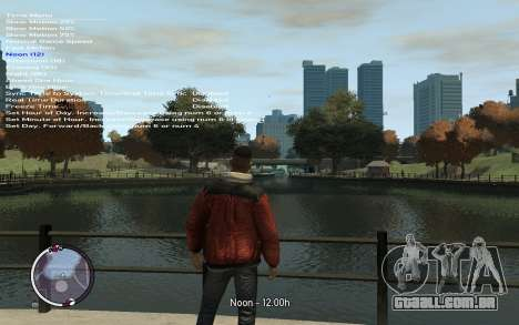 Native Trainer GTA EFLC ENG [STEAM] para GTA 4 quinto tela