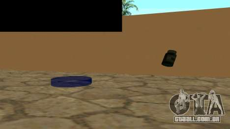 Substitua os ícones e salvar vidas para GTA San Andreas terceira tela