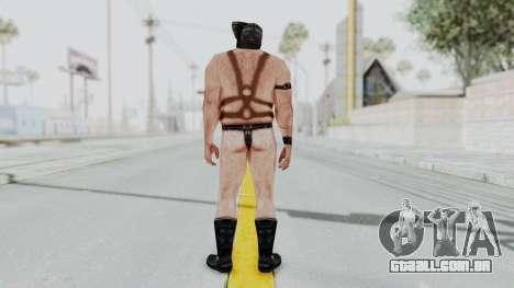 Manhunt 2 - Gimp Bouncer para GTA San Andreas terceira tela