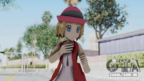 Pokémon XY Série - Serena (Roupa Nova) para GTA San Andreas