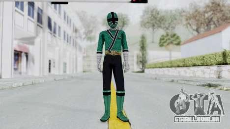 Power Rangers Samurai - Green para GTA San Andreas segunda tela
