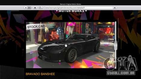 GTA 5 A the body shop benny's no modo single segundo screenshot