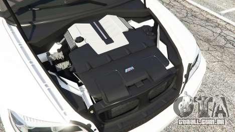 GTA 5 BMW X5 M frente vista lateral direita