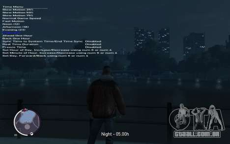 Native Trainer GTA EFLC ENG [STEAM] para GTA 4 sexto tela