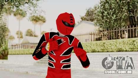 Power Rangers Jungle Fury - Red para GTA San Andreas