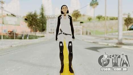 ME3 Dr. Eva Custom Miranda Castsuit para GTA San Andreas segunda tela