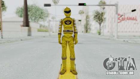 Power Rangers Dino Thunder - Yellow para GTA San Andreas segunda tela