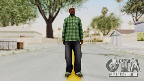 GTA 5 Families Gang Mamber 3 para GTA San Andreas segunda tela