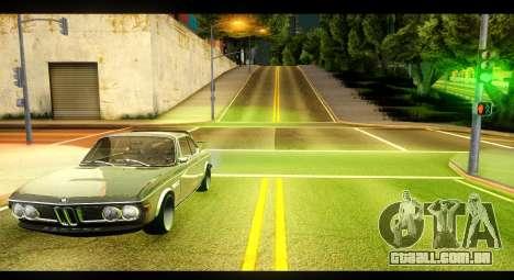 BMW 3.0 CSL para GTA San Andreas esquerda vista
