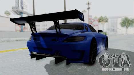 Mercedes-Benz SLS AMG GT3 PJ5 para GTA San Andreas esquerda vista
