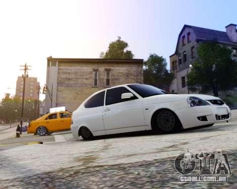 Lada Priora Coupe para GTA 4 traseira esquerda vista