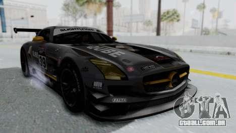 Mercedes-Benz SLS AMG GT3 PJ5 para vista lateral GTA San Andreas