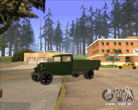 GAZ AA Camião para GTA San Andreas