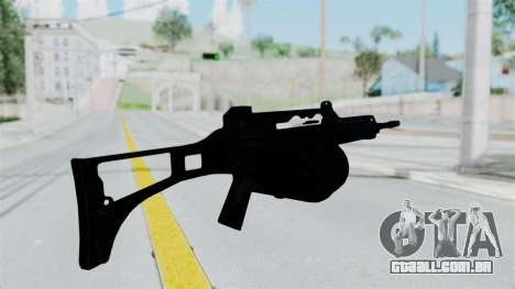 MG36 para GTA San Andreas terceira tela