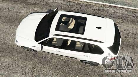 GTA 5 BMW X5 M voltar vista