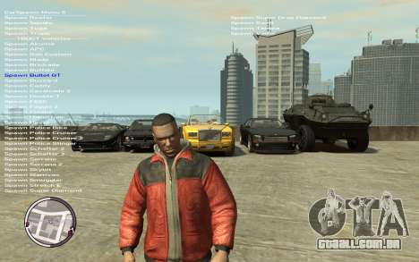 Native Trainer GTA EFLC ENG [STEAM] para GTA 4 terceira tela