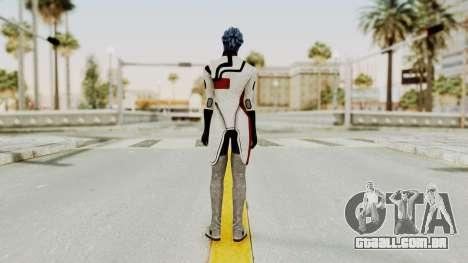 Mass Effect 2 Rana Thanoptis para GTA San Andreas terceira tela