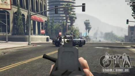 GTA 5 TAR-21 sétima screenshot
