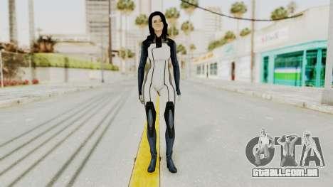 Mass Effect 3 Miranda in Evas Catsuit para GTA San Andreas segunda tela