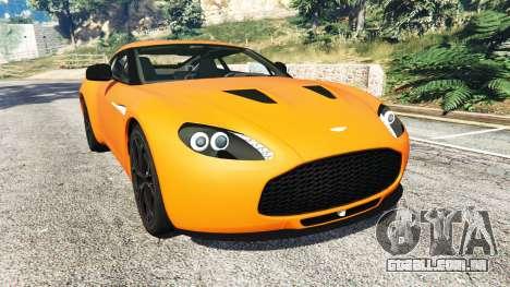 Aston Martin V12 Zagato v1.2 para GTA 5