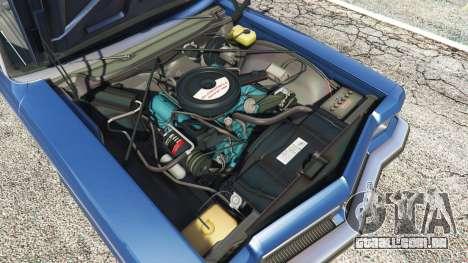GTA 5 Oldsmobile Delta 88 1973 v2.0 frente vista lateral direita