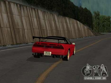 Honda NSX (NA1) Time Attack para GTA San Andreas vista direita