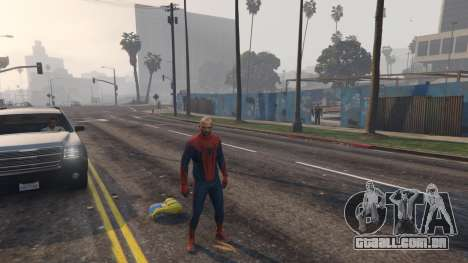 Amazing Spiderman para GTA 5
